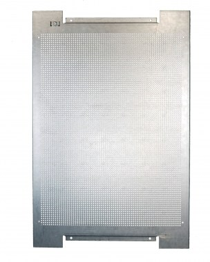 perforated metal plate for wall mounting 400 x 600 mm zinc-coated steel
