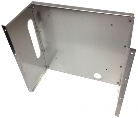 "19"" mounting tray for the installation of a QAM BOX in a 19"" cabinet"