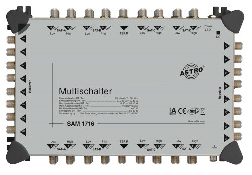 Cascadable multiswitch