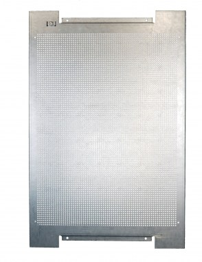 perforated metal plate for wall mounting 800 x 1200 mm zinc-coated steel