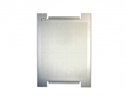 perforated metal plate for wall mounting 300 x 400 mm zinc-coated steel